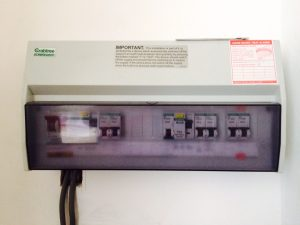 New electrical consumer unit to protect you in your home